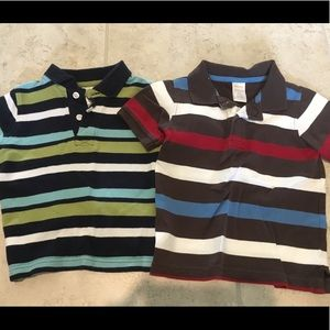 2 baby boy polos from Gymboree